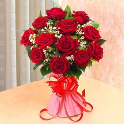 Marvelous Bookey of Red Roses