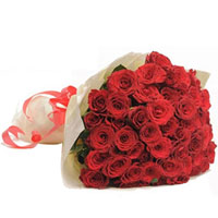 Lovely Bookey of Red Roses 