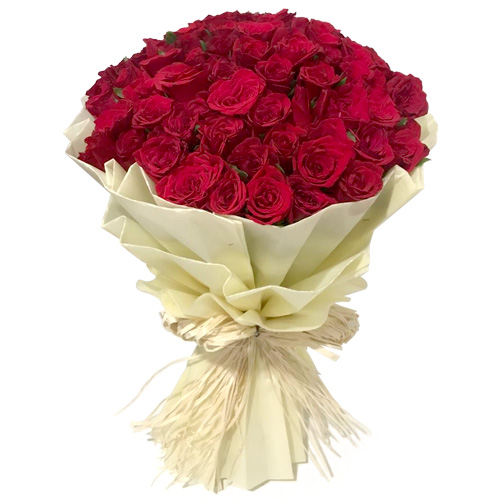 Beautiful Red Rose Bouquet to Bolpur