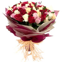Special Assorted Rose Bunch to Adilabad