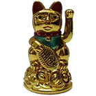 Remarkable Maneki Neko Lucky Cat Chinese Feng Shui to Addanki