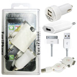 Utilitarian USB Power Adapter Set for iPhone to Baraut