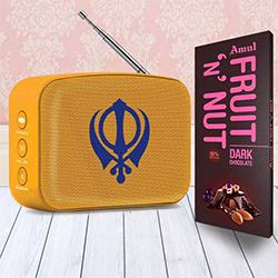 Audible Gurbani for your Veer Ji to Ahmedabad