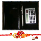 Calculator with Pen and Rakhi to Cochin