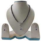 Arresting Comfy Grey Pearl Jewellery Set to Yamunanagar