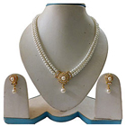 Stylish and Classy Pearl Set with Matching Earrings to Miraz