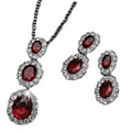 Dangly Pendant Set with Earrings by Avon to Mysore