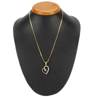 Passion Cherished Gold Heart Pendant with Chain to Bantwal