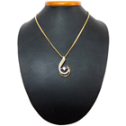 Thought-Thrilling Fairness Gold Plated Necklace with Teresa Pendant to Chandigarh