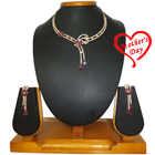 Absolute Splendor Necklace with Earrings Set to Baraut