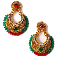 Traditional Ethnic Pattern Earring Set to Guwahati