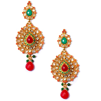 Classy Stone Studded Earring Set to Guwahati