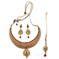 Spectacular Necklace Set Wedding Gift to Ghaziabad