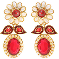 Ravishing Wedding Present Earring Set to Solapur
