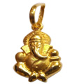 22K Gold Ganesh Pendant From Anjali to Udaipur