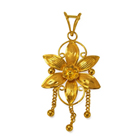 Anjali�s Excellent Gaudiness (22K) Flowery Pendant to Udaipur