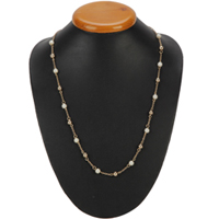 Captivating Gold Plated Pearl Necklace from Avon to Chavara