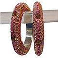Stylish Beautifully Crafted Designer Bangle Set to India