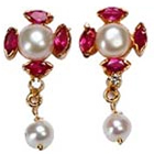 Stunning Pearl Earrings to Mysore