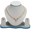 Exquisite Pearl Set with Necklace & Earrings to Udaipur