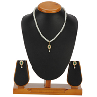 Classic Selection of Pearl Pendent  N  Earring Set to Ambur