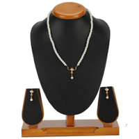 Amazing Art Pearl Pendent  N  Earring Set to Delhi