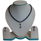 Grey Pearl Pendent Set to Udaipur