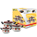 Nirlep 3 Pc Enamelware Gift Set to Areraj