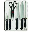 Prestige 7 PC Knife ��Board Set to Adoor