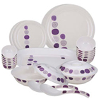 Milton 31 Pcs Melamine Lissome Dinner Set to Nashik