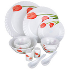 La Opala Melody 15 Pieces Dinner Set to Adugodi