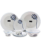 La opala Melody 35 pieces dinner set to Achalpur