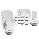 Milton 31 Pcs Melamine Square Round Dinner Set to Nashik