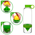 Fancy Easy to Use Citrus Zinger Water Infuser Bottle with Extractor for Citrus Fruits to Nashik