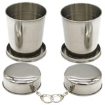 Classic Stainless Steel Folding Glasses Set to Bihar