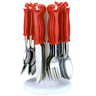 Crystal 24 pc Cutlery Set to Badgam