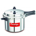 Prestige Deluxe + Induction Base Aluminium 5 Ltrs Pressure cooker  to Gurgaon