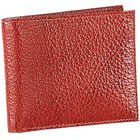 Genuine Leather Reddish Brown Shade Leather Wallet from Leather Talks to Trichy