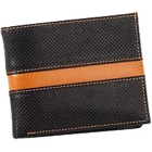 Trendy and Chic Looking Genuine Leather Men's Wallet in Black and Brown from Leather Talks to Amlapuram