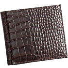 Chris Brown Shaded Crocodile Skin Styled Genuine Leather Gents Wallet from Leather Talks to Ahmedabad