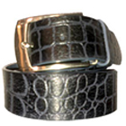 Black Geuinie Leather Casual Belt for Men from Longhorn to Lucknow