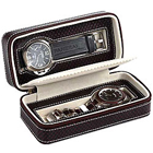Genuine Leather Watch Case (for 2 watches) from Leather Talk to Nashik