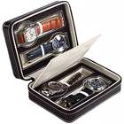 Genuine Leather Watch Case (for 4 watches) from Leather Talk to Bangalore