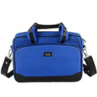 Jazzy Office Documents Holder & Laptop Bag in Blue from Vaunt to Cochin