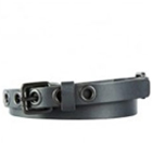 Magnificent Titan Fastrack Black Leather Belt for Ladies to Amaraoti