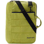 Green color messenger bag from Fastrack 