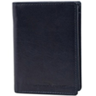 Manly Black Coloured Coat Wallet Made of Leather from Urban Forest to Kolkata