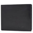 Classic Urban Forest Leather Wallet in Black Exclusively for Men to Amaraoti