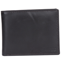 Trendsetting Longhorn Pure Leather Gents Wallet in Black to Mumbai