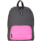 Awesome Black and Pink Coloured Backpack from Fastrack to Chandigarh